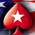 PokerStars logo USA flagga