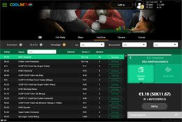 Coolbet Poker lobby