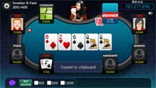screenshot 12Bet Poker