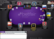 screenshot betfair poker